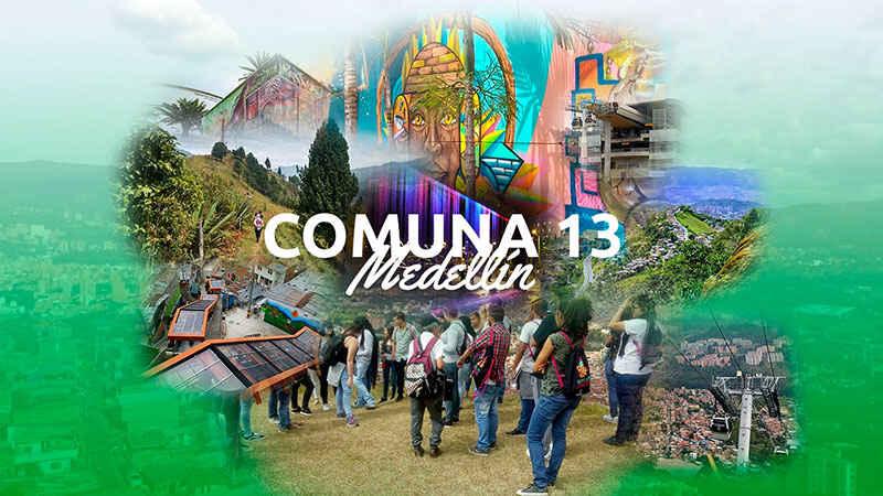 Conoce la Comuna 13 – Medellín