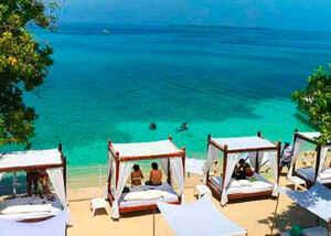 Isla Privada Bora Bora  Beach Club